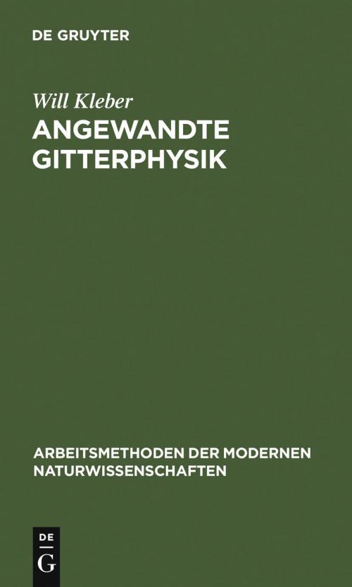 Angewandte Gitterphysik cover