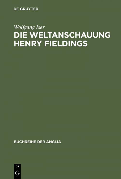 Die Weltanschauung Henry Fieldings cover