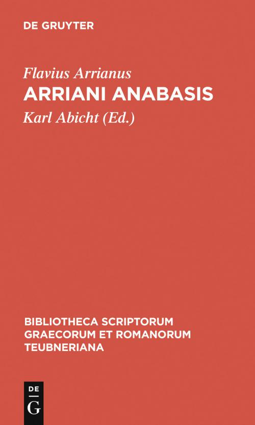 Arriani Anabasis cover