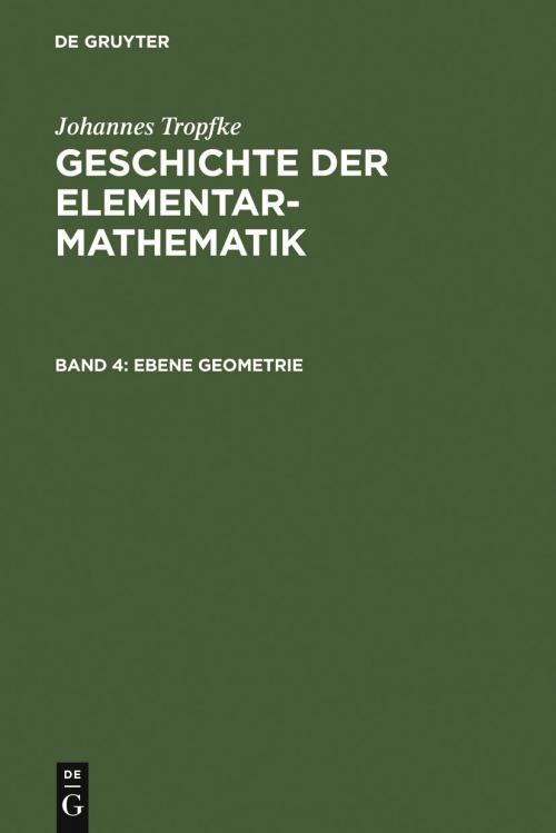 Ebene Geometrie cover