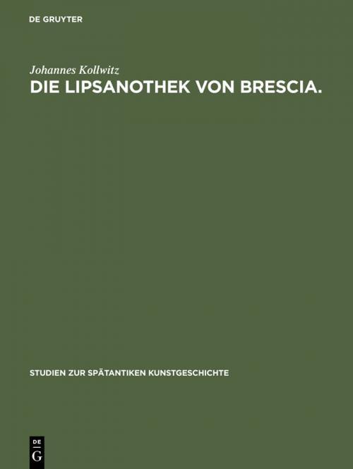 Die Lipsanothek von Brescia. cover