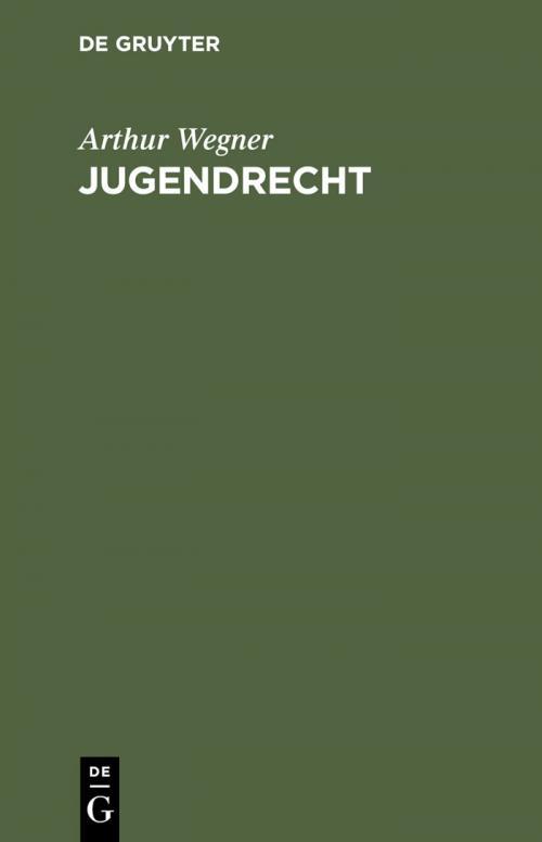 Jugendrecht cover