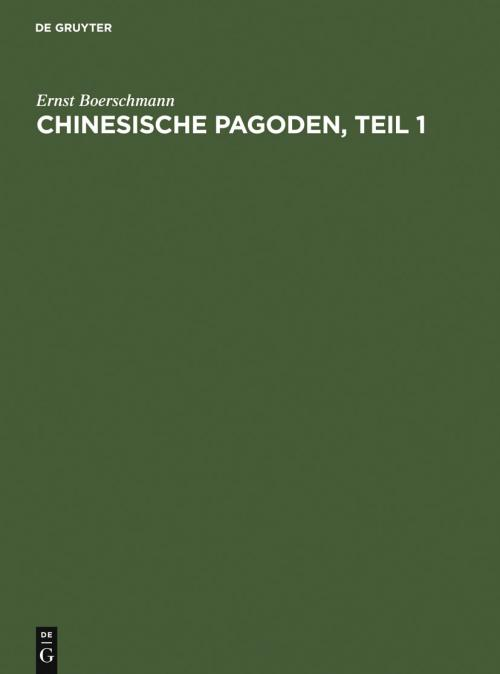 Pagoden, Teil 1 cover
