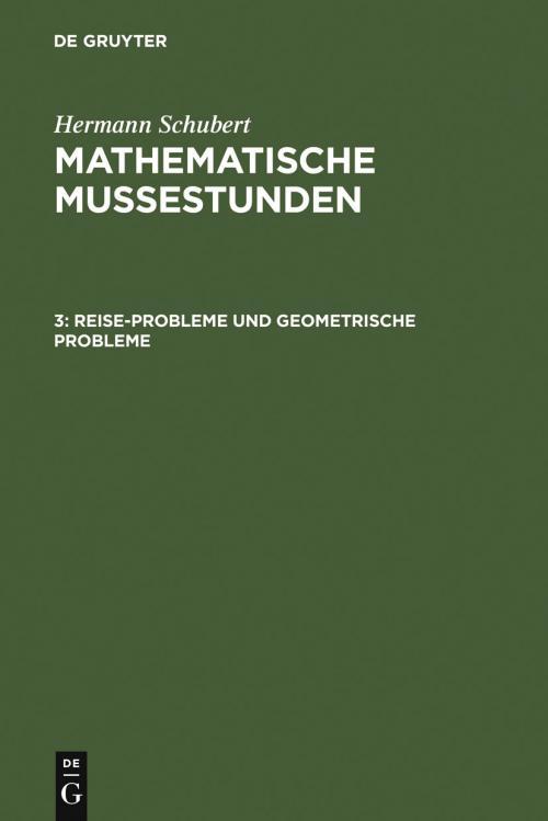 Reise-Probleme und geometrische Probleme cover