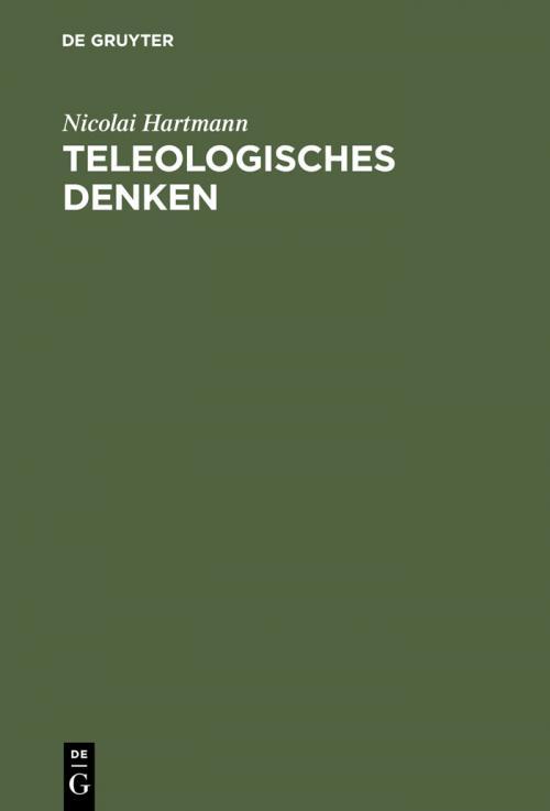 Teleologisches Denken cover