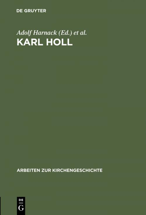 Karl Holl cover