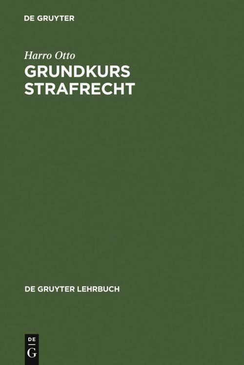 Grundkurs Strafrecht cover
