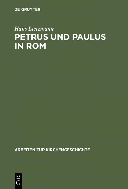Petrus und Paulus in Rom cover