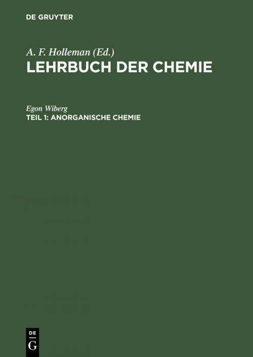 Anorganische Chemie cover