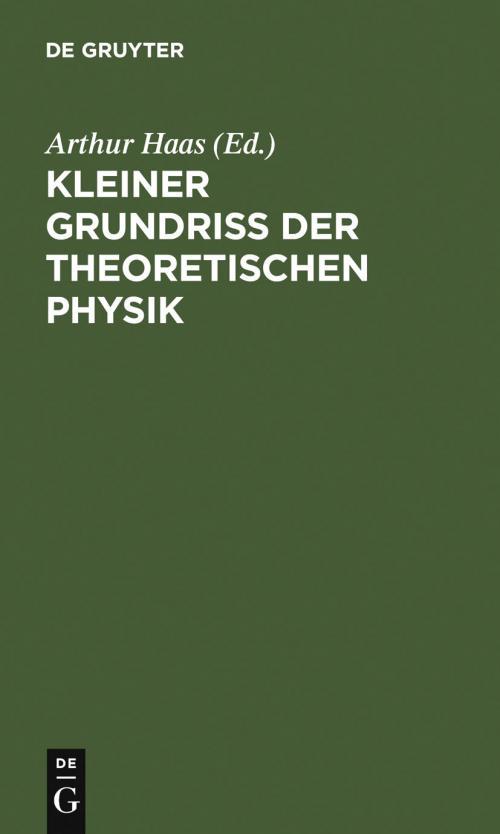 Kleiner Grundriss der theoretischen Physik cover