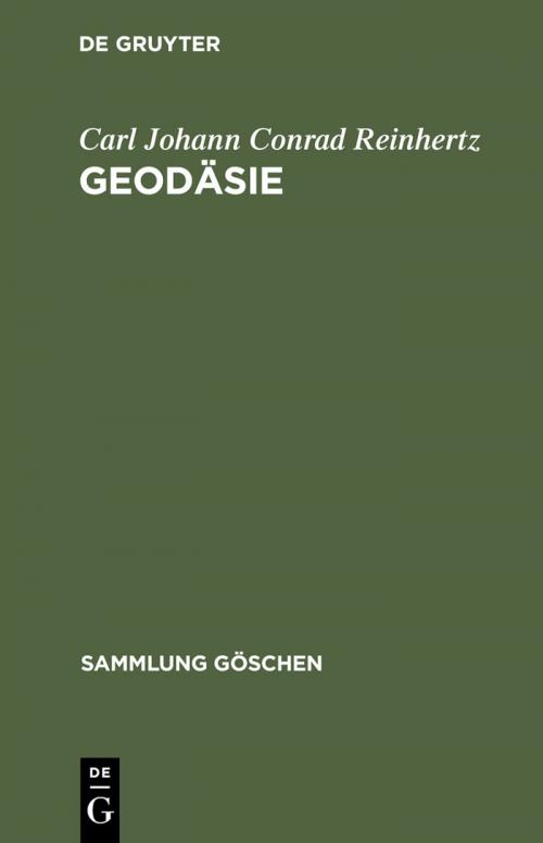 Geodäsie cover