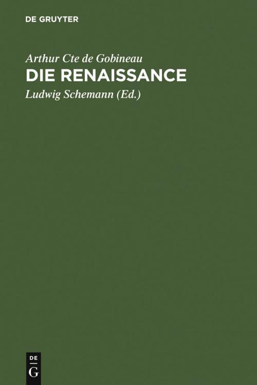 Die Renaissance cover