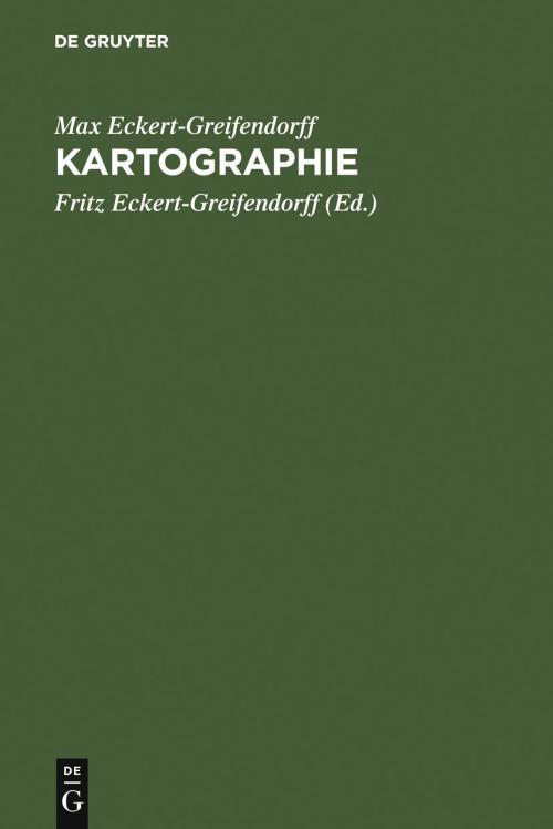 Kartographie cover
