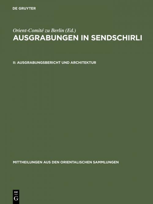 Ausgrabungsbericht und Architektur cover