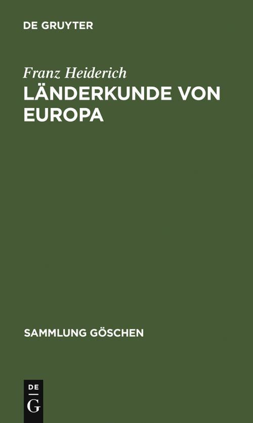 Länderkunde von Europa cover