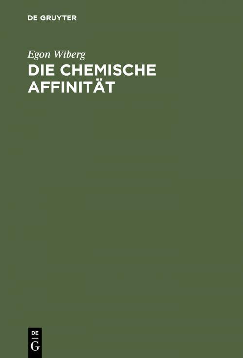 Die chemische Affinität cover