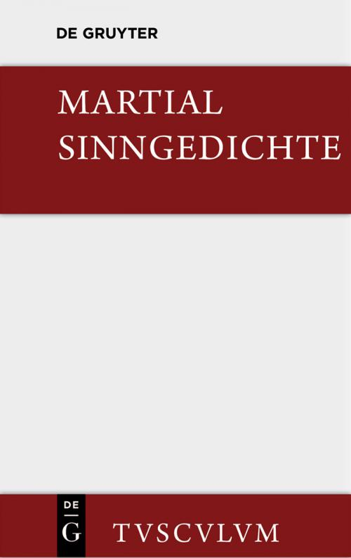 Sinngedichte cover