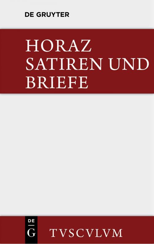 Die Satiren und Briefe des Horaz / Sermones et epistulae cover