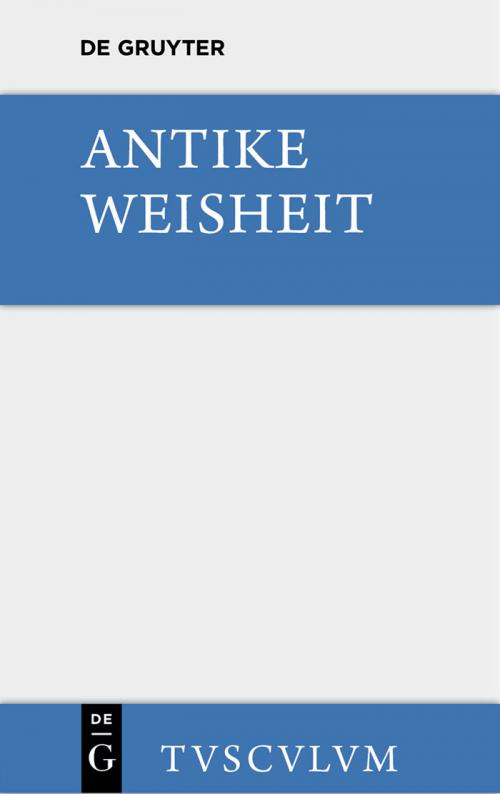 Antike Weisheit cover