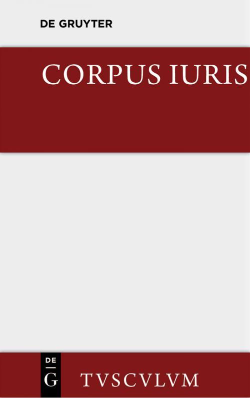 Corpus iuris cover