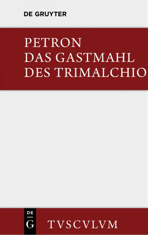 Das Gastmahl des Trimalchio cover