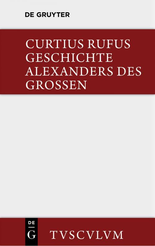 Geschichte Alexanders des Grossen cover