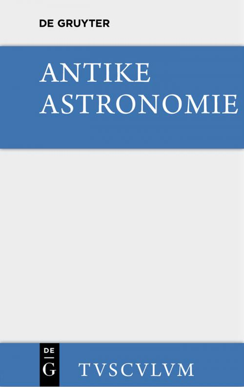 Antike Astronomie cover