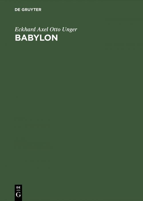 Babylon cover