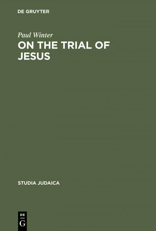 On the Trial of Jesus cover