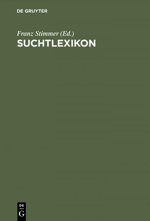 Suchtlexikon cover