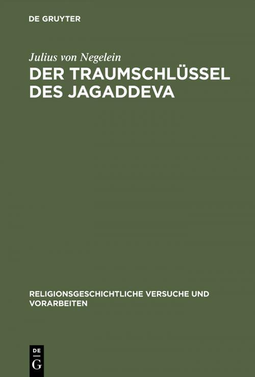 Der Traumschlüssel des Jagaddeva cover