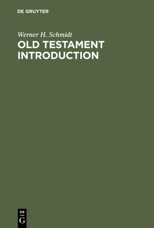 Old Testament Introduction cover