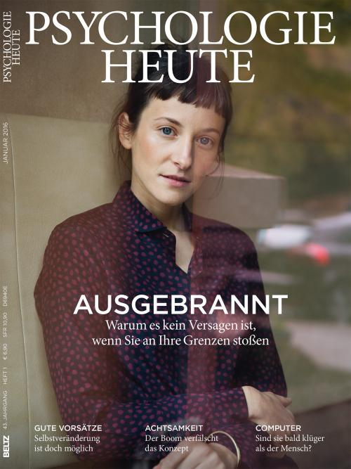Psychologie Heute 1/2016 cover