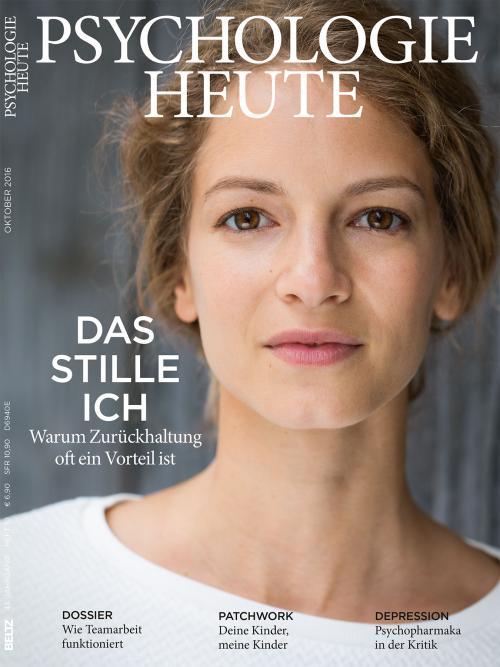 Psychologie Heute 10/2016 cover