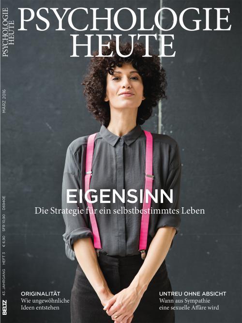 Psychologie Heute 3/2016 cover