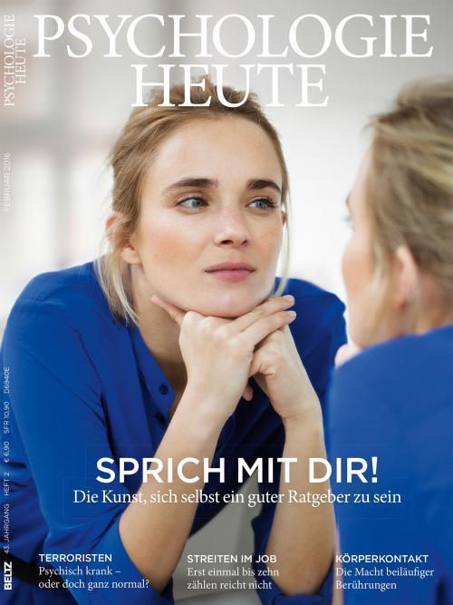 Psychologie Heute 2/2016 cover