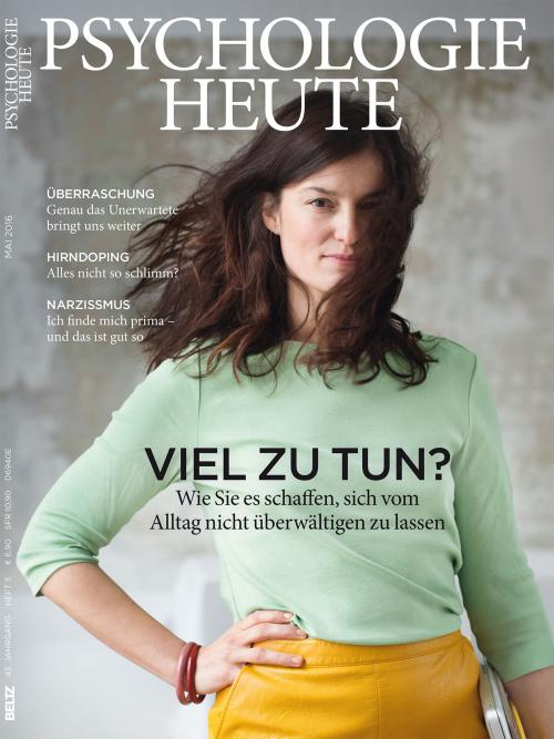 Psychologie Heute 5/2016 cover