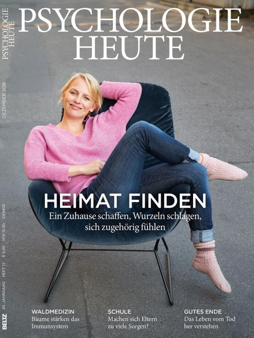 Psychologie Heute 12/2016 cover