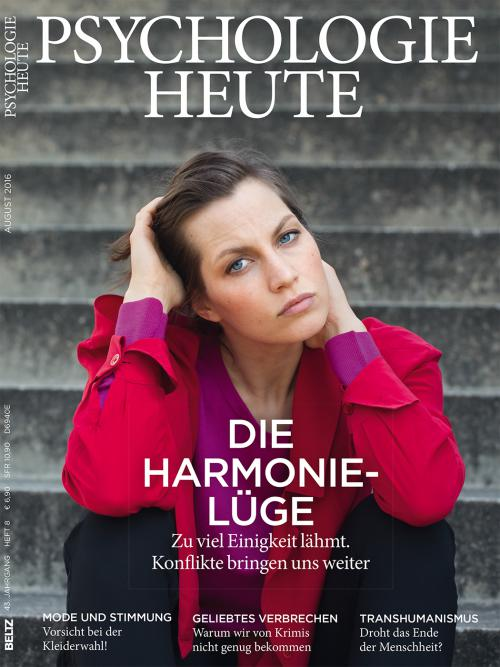 Psychologie Heute 8/2016 cover
