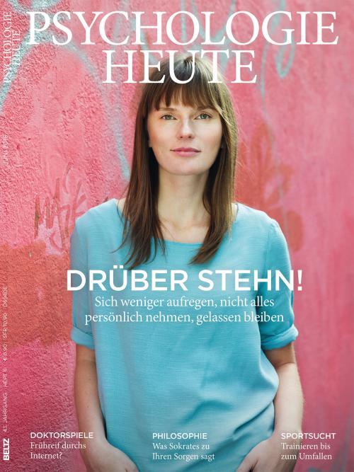 Psychologie Heute 6/2016 cover