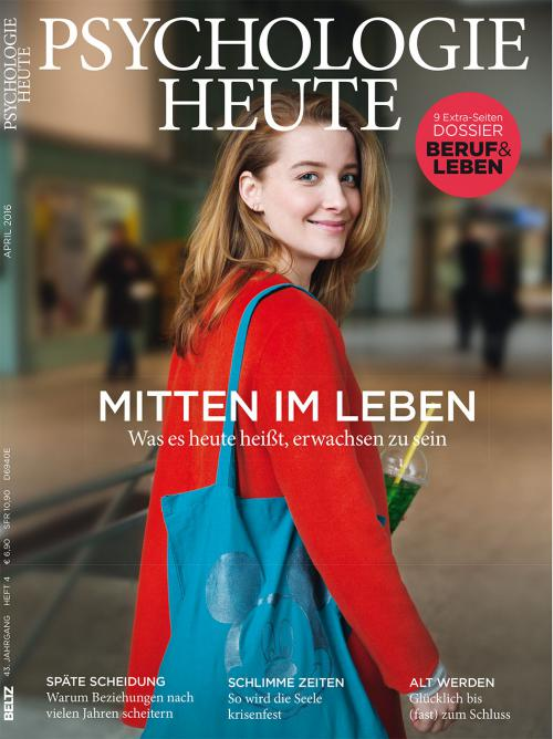 Psychologie Heute 4/2016 cover