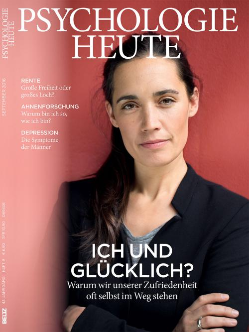 Psychologie Heute 9/2016 cover