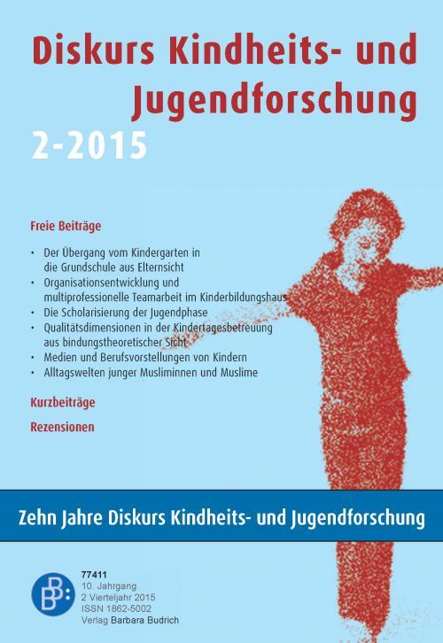 Diskurs Kindheits- und Jugendforschung 2/2015 cover