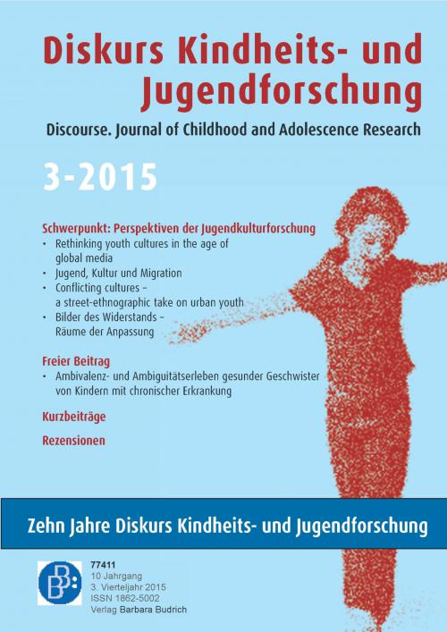 Diskurs Kindheits- und Jugendforschung 3/2015 cover