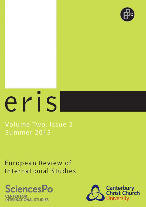 ERIS – European Review of International Studies 2/2015 cover