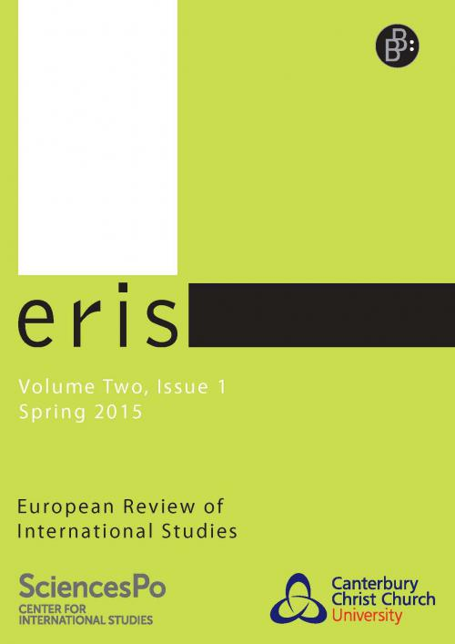 ERIS – European Review of International Studies 1/2015 cover