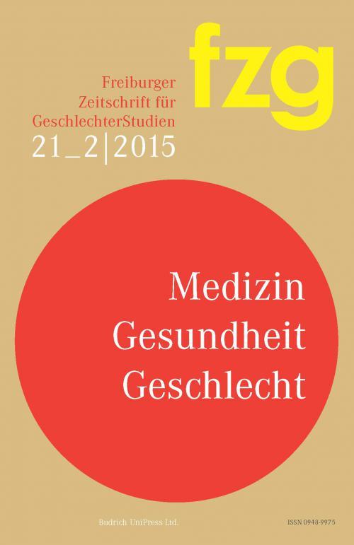FZG – Freiburger Zeitschrift für GeschlechterStudien 2/2015 cover