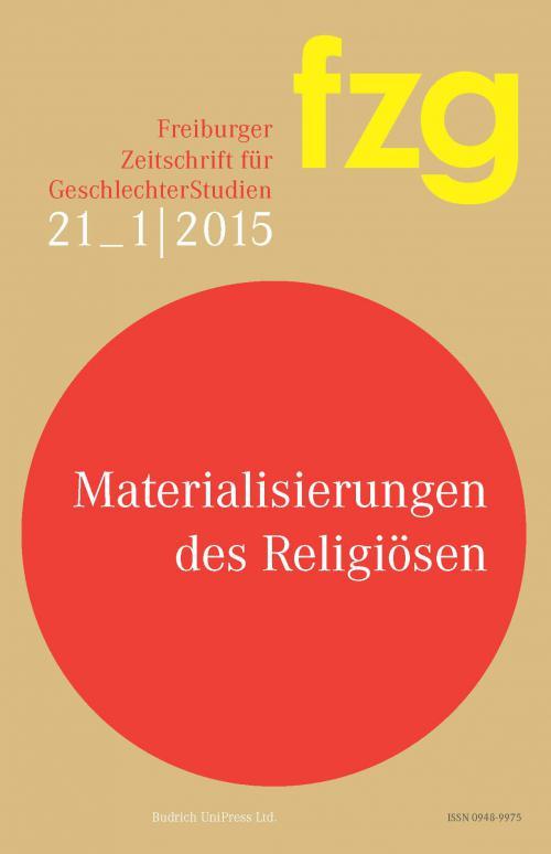 FZG – Freiburger Zeitschrift für GeschlechterStudien 1/2015 cover