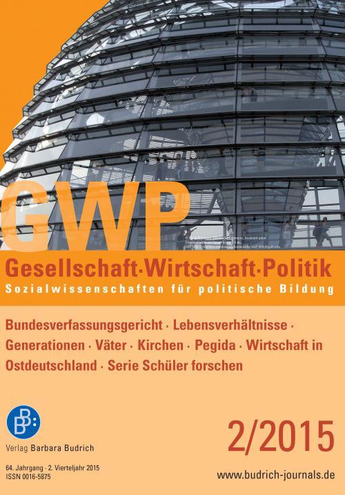 GWP – Gesellschaft. Wirtschaft. Politik 2/2015 cover