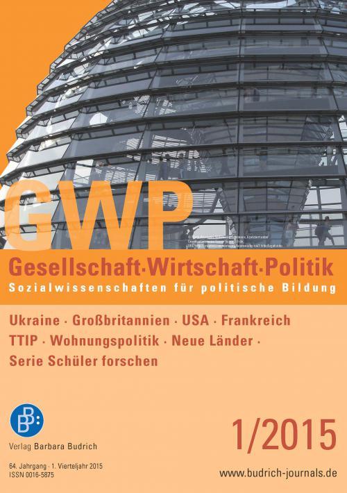 GWP – Gesellschaft. Wirtschaft. Politik 1/2015 cover